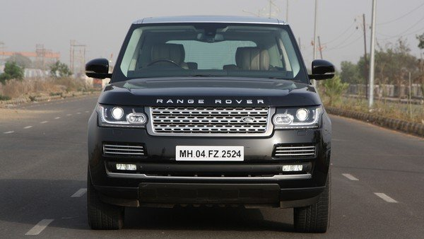 land rover range rover front angle