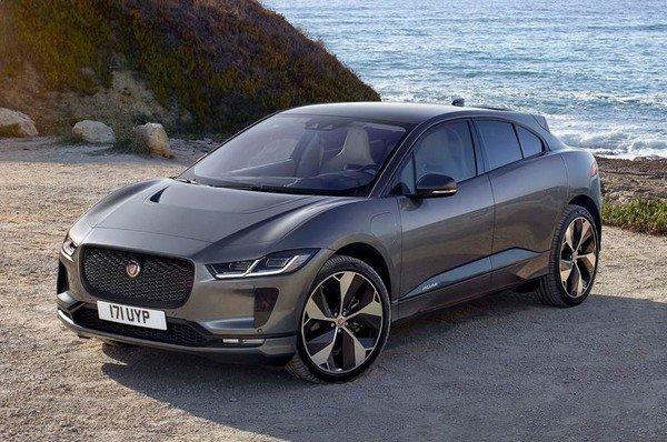 2020 jaguar i-pace black front angle