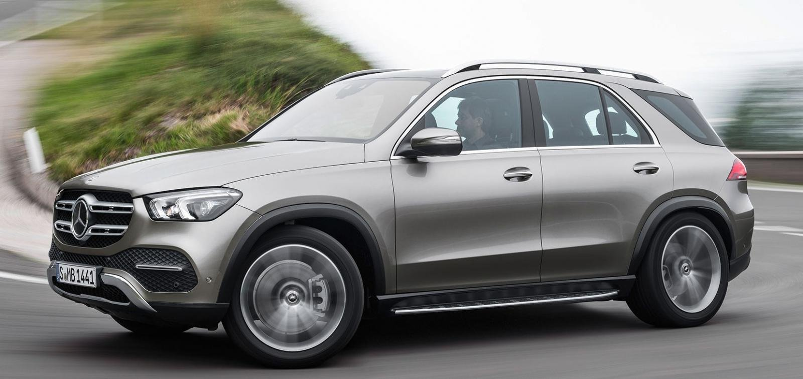 SUVs at Auto Expo 2020 - Upcoming Mercedes Benz GLE