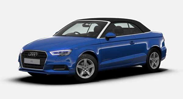 audi a3 cabriolet front three quarters left side