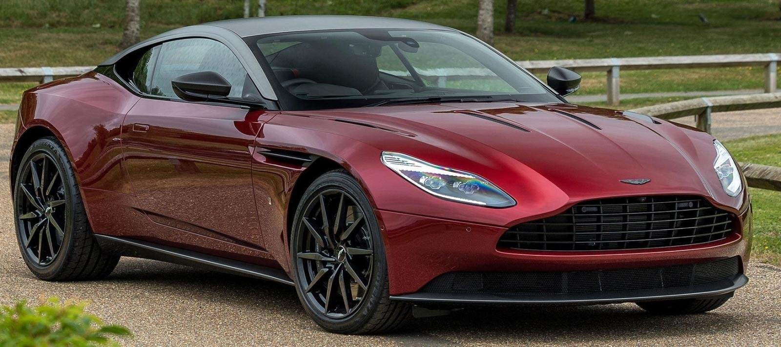 15 Most Expensive Cars in India - Aston Martin DB11