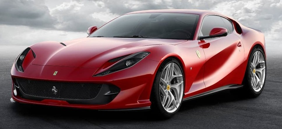 15 Most Expensive Cars in India - Ferrari 812 Superfast