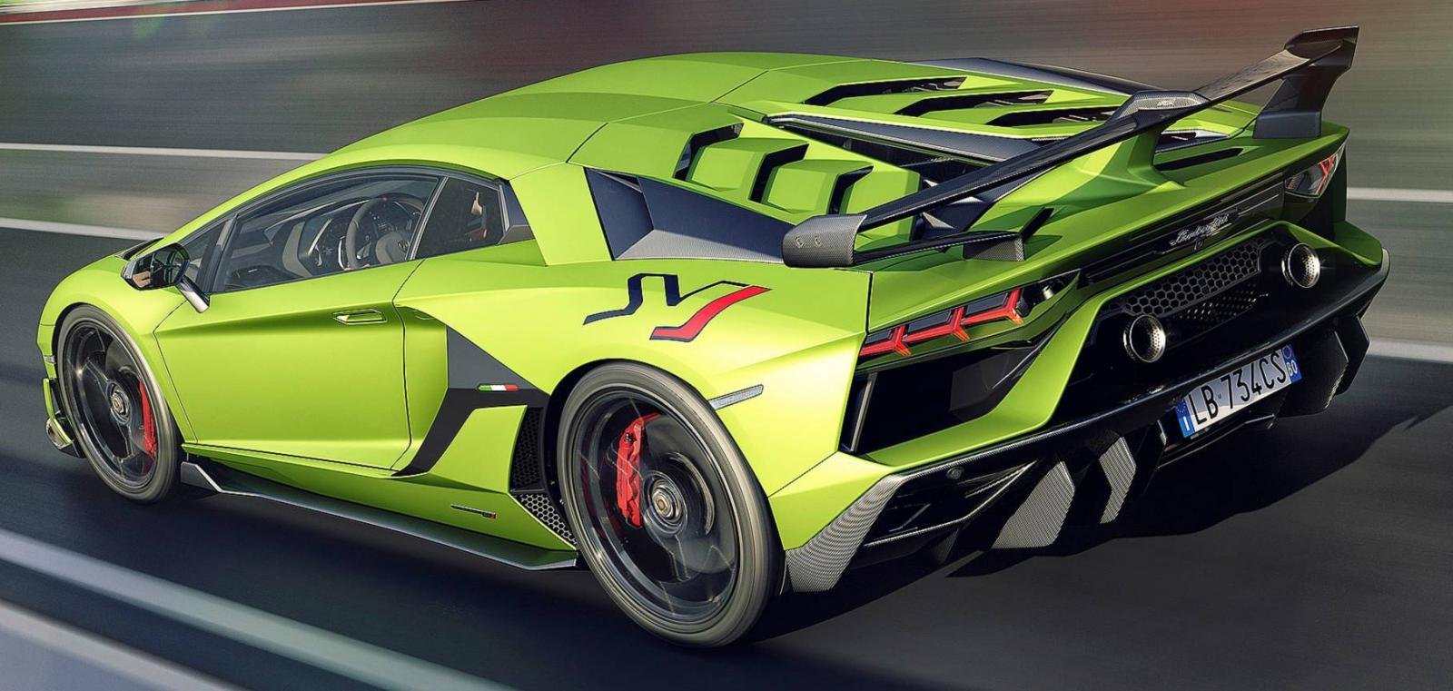 15 Most Expensive Cars in India - Lamborghini Aventador SVJ
