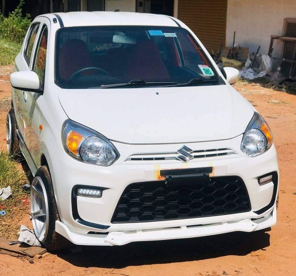 Modified Maruti Alto 800cc front look