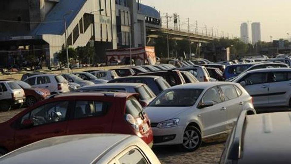 Car Parking charges In Chandni Chowk