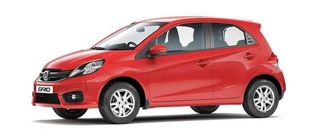 highest ground clearance cars in India - Honda Brio
