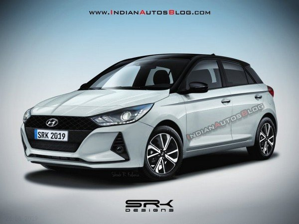 hyundai i20 2020 front three quarters left side