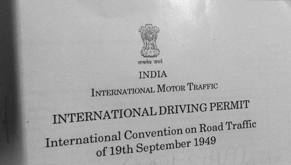 indian international driving licence