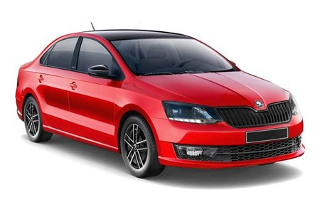 highest ground clearance cars in India - Skoda Rapid