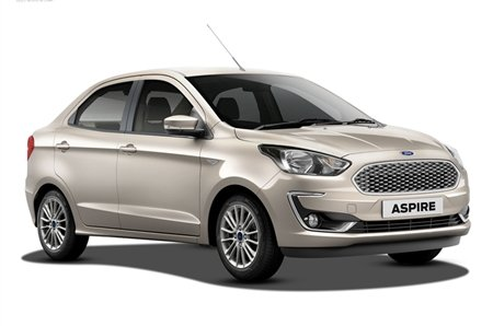 highest ground clearance cars in India - Ford Aspire