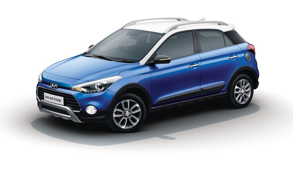 highest ground clearance cars in India - hyundai i20 active