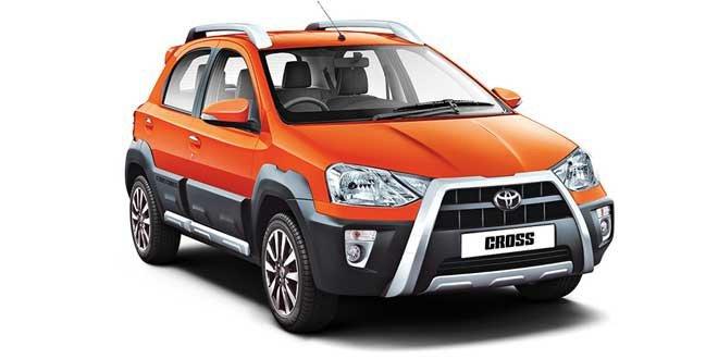 highest ground clearance cars in India - toyota etios cross