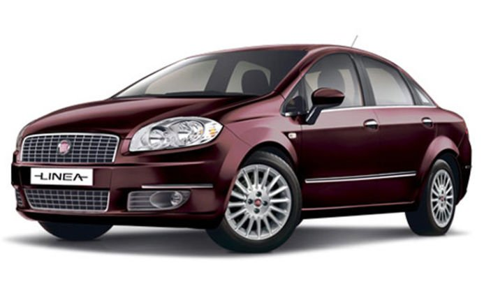 highest ground clearance cars in India - fiat linea