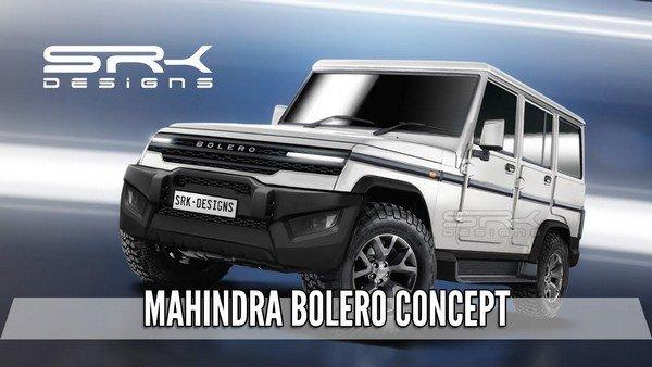mahindra bolero 2020 render image