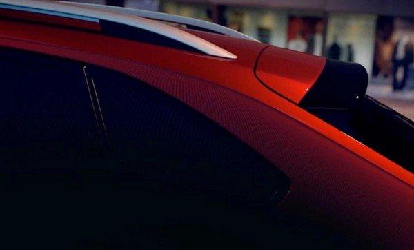 Volkswagen nivus coupe like roofline