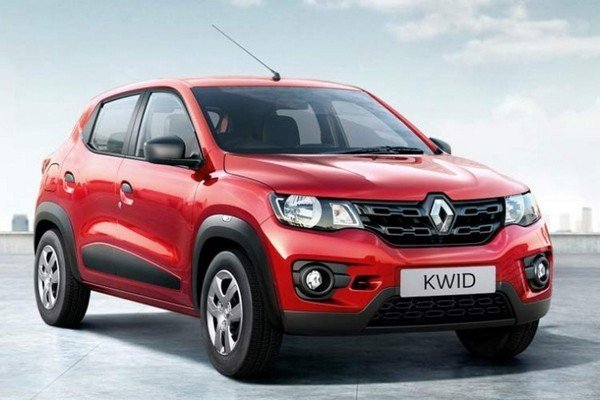 renault kwid 2019 red front angle