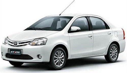 highest ground clearance cars in India - Toyota Etios