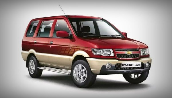 chevrolet tavera three quarter