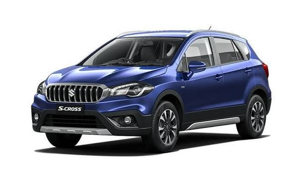Front side view of Maruti S-Cross
