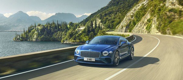 Fastest petrol cars in India - bentley continental gt