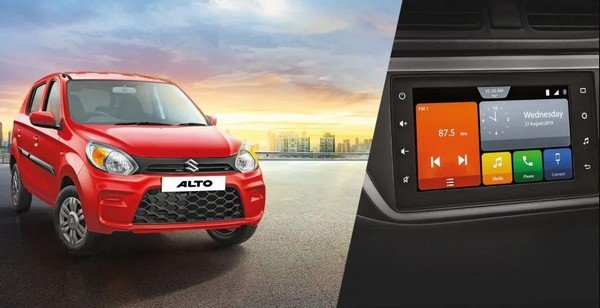 maruti alto 800 vxi plus touchscreen
