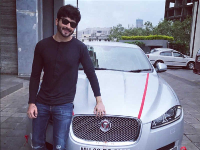 cars of Indian TV stars Dheeraj Dhoopar Jaguar XJ
