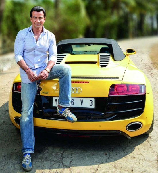 cars of Indian TV stars Ronit Roy Audi R8