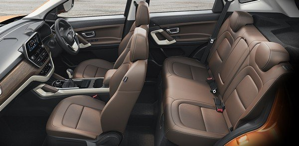 2019 tata harrier interior