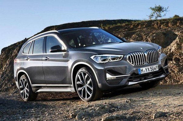 2020 bmw x1 silver front angle