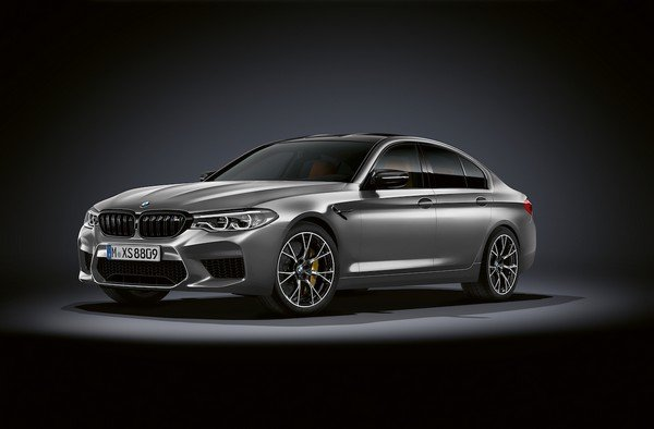 bmw m5 competition front three quarters left side