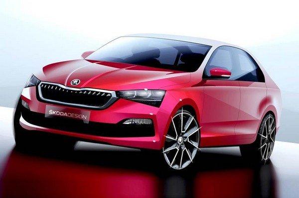 Six Upcoming Skoda Cars In India - Next-Generation Skoda Rapid