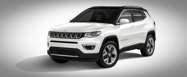 2020 jeep compass white front angle