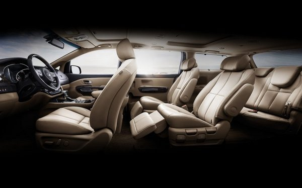 Inside view of the MPV