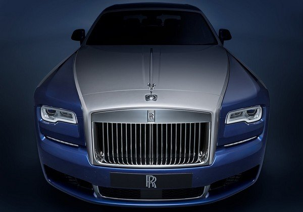 rolls royce ghost front angle
