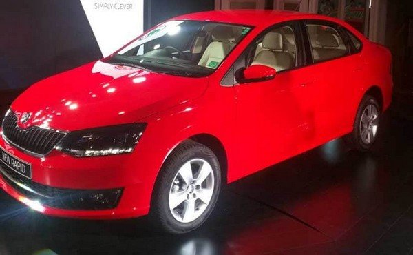 lucky car colour as per date of birth 2020 skoda rapd red front angle