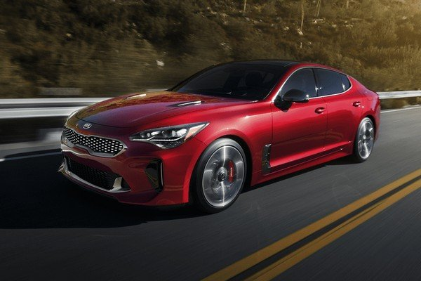 Kia Cars At Auto Expo 2020 - Kia Stinger