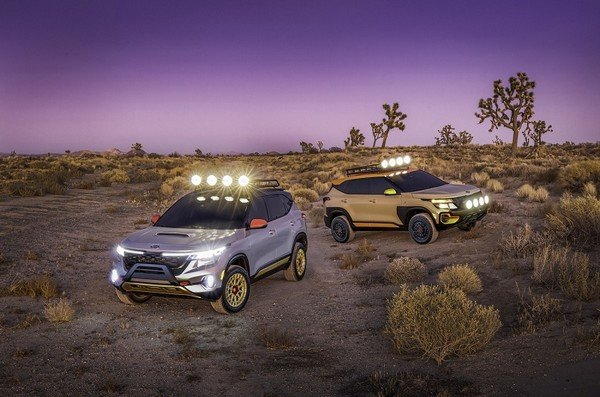 kia Seltos X-Line Trail and Seltos X-Line Urban - Kia Cars At Auto Expo 2020