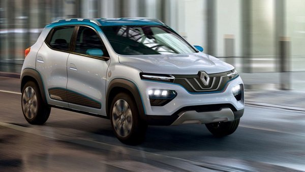 Renault K-ZE, upcoming small cars at Auto Expo 2020
