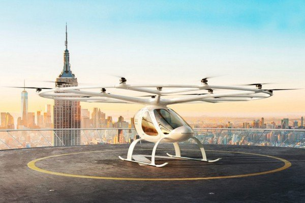 Upcoming mercedes cars in india 2020 - volocopter front angle