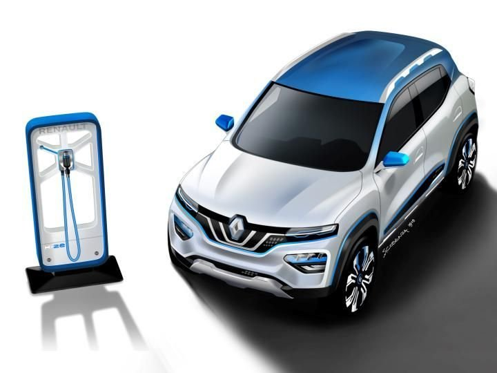 Cars at auto expo 2020 - Renault K-ZE