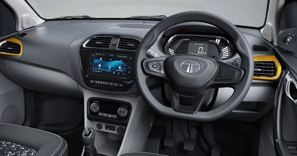 2020 Tata Tiago interior dashboard
