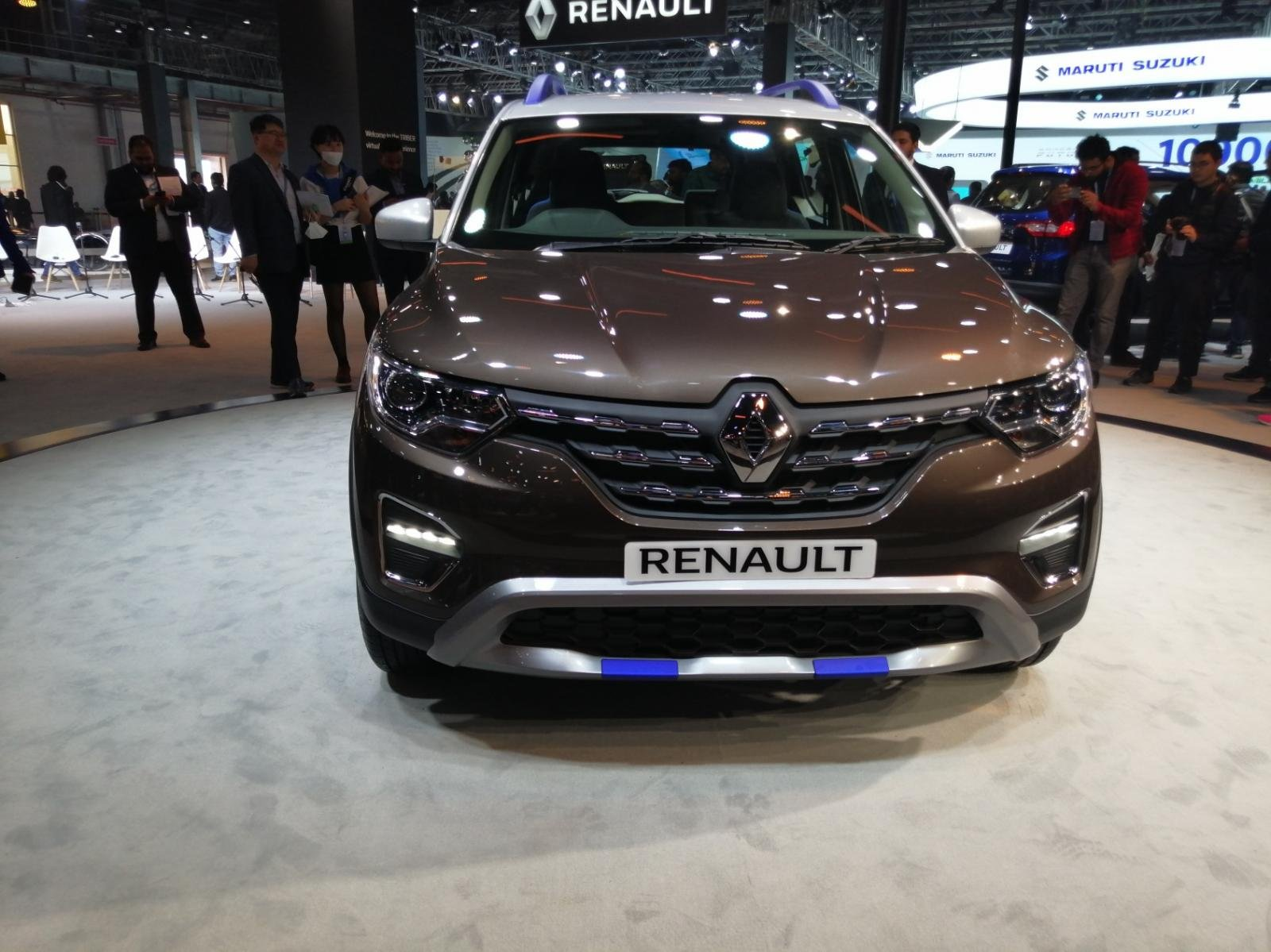Renault Triber unveiled at Auto Expo 2020