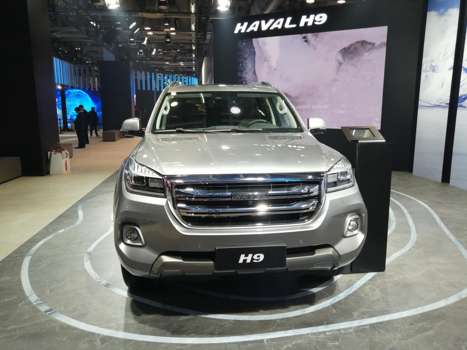 Great Wall Motors Haval H9 at Auto Expo 2020