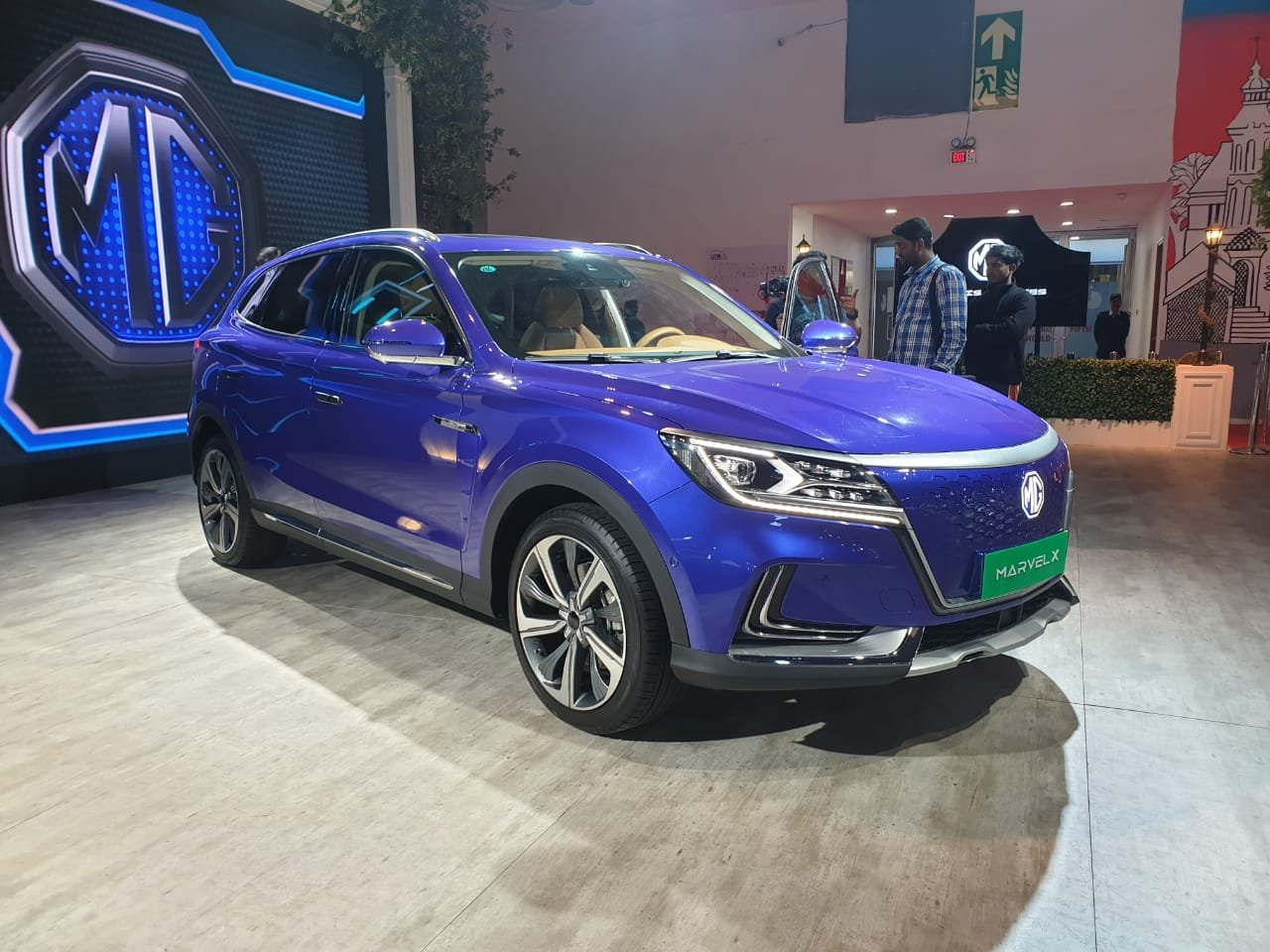 MG Motors Unveils Marvel X At Auto Expo 2020