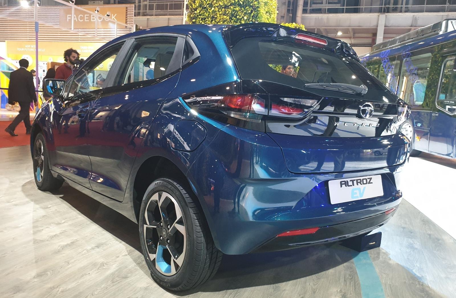 Auto Expo 2020 - Tata Altroz Electric