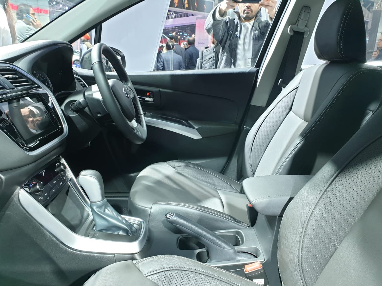 Auto Expo 2020 - Maruti S-Cross petrol interior