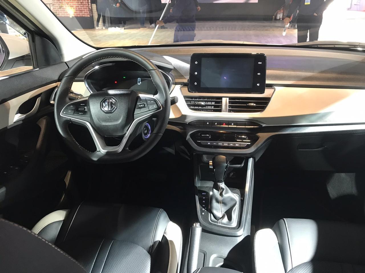 Auto Expo 2020 - MG 360M interior