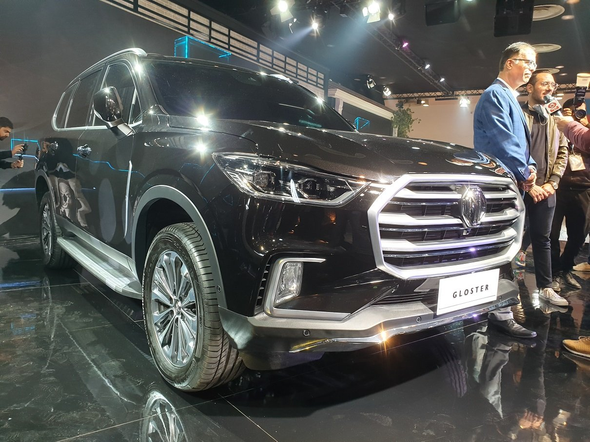 MG Gloster Full-Size SUV (Maxus D90) Unveiled At Auto Expo 2020