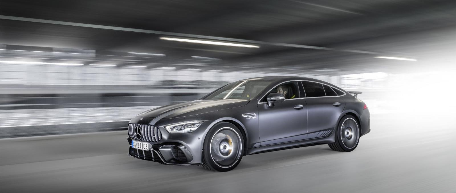 Mercedes-Benz AMG GT 63 S 4-Matic 4-Door Coupe Launched At Auto Expo 2020
