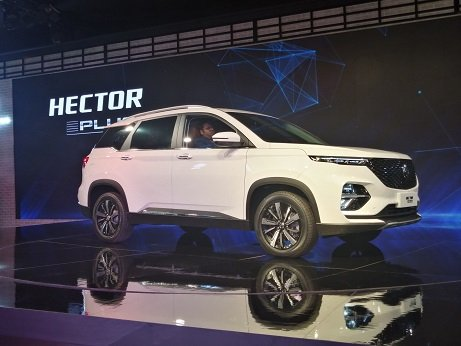 MG Hector Plus Launch in 3-6 Months